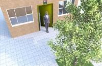 大门正对大树的化解方法
